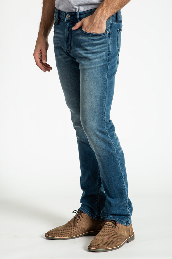 BARFLY SLIM DENIM PANTS IN Everett