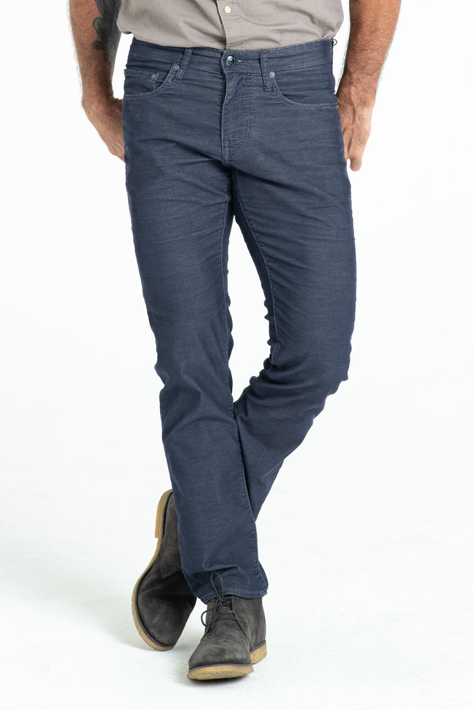 BARFLY SLIM CORD PANTS IN ASTRO