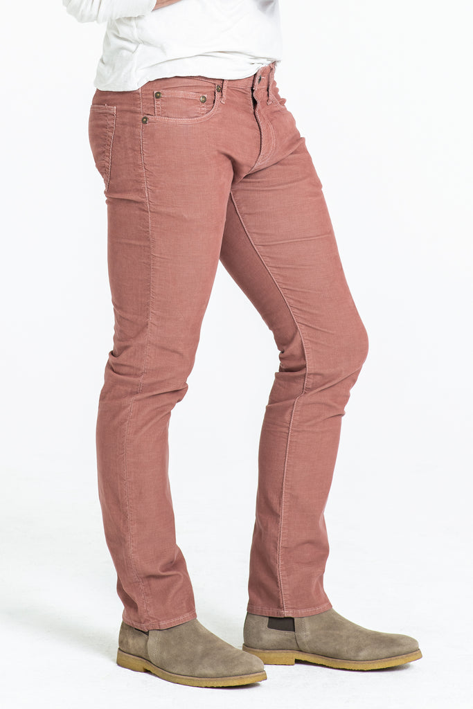BARFLY SLIM CORD PANTS IN CHILI