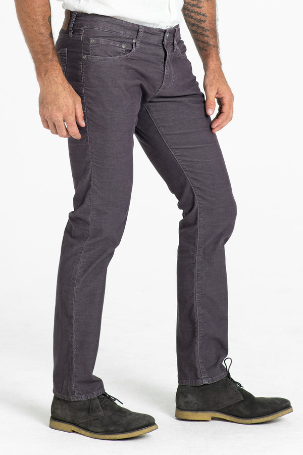 BARFLY SLIM CORD PANTS IN MOCHA