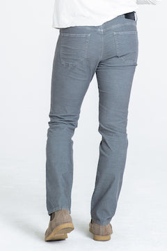 BARFLY SLIM CORD PANTS IN STONE