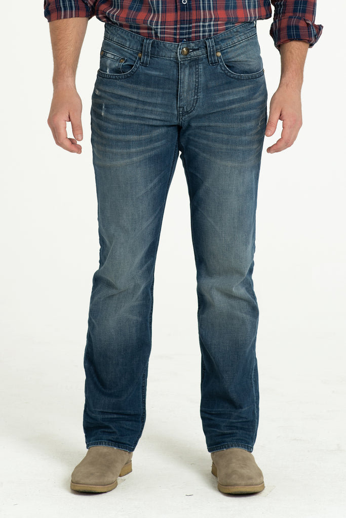 TEXAS STRAIGHT DENIM PANTS IN DESERT DAYS