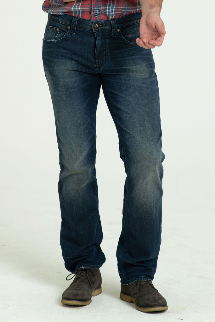 TEXAS STRAIGHT DENIM PANTS IN DAY TRIP