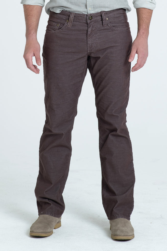 TEXAS STRAIGHT CORD PANTS IN BOURBAN