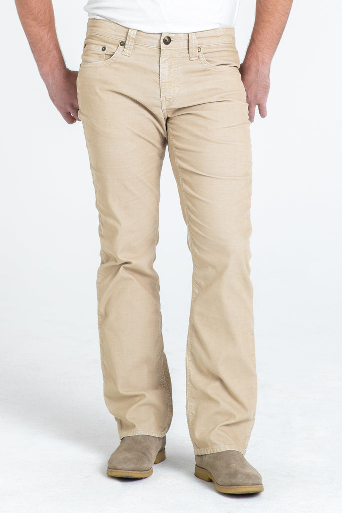 TEXAS STRAIGHT CORD PANTS IN DUNE