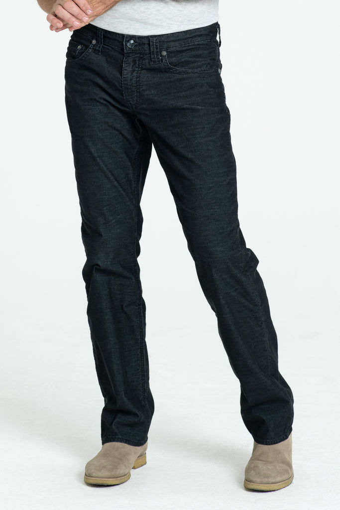 TEXAS STRAIGHT CORD PANTS IN ONXY