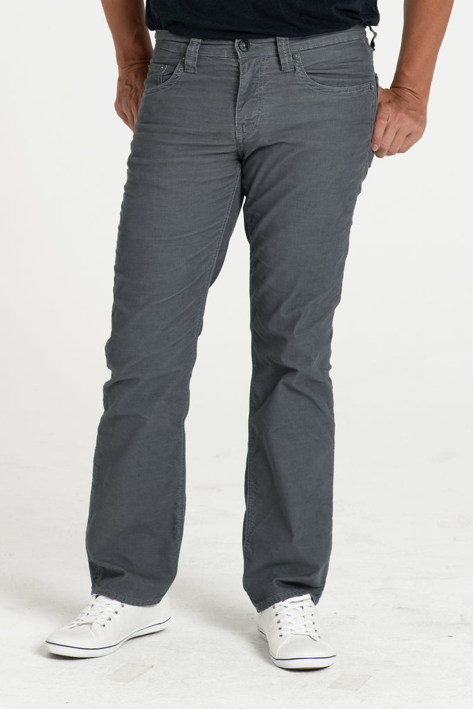 TEXAS STRAIGHT CORD PANTS IN STORM