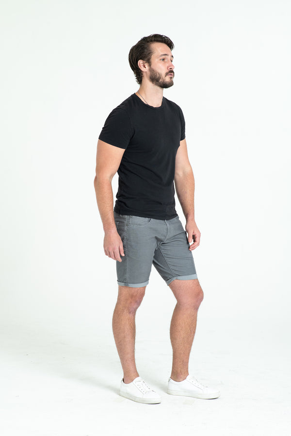 ROLL UP CORD SHORTS IN STORM