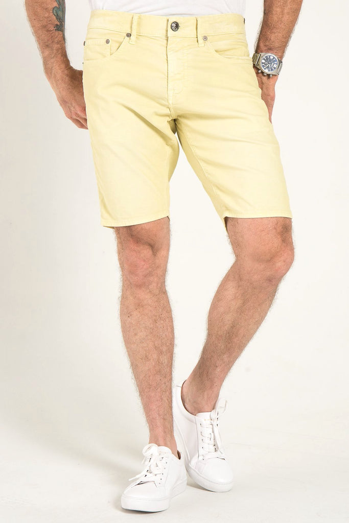 ROLL UP CORD SHORTS IN TROPIC