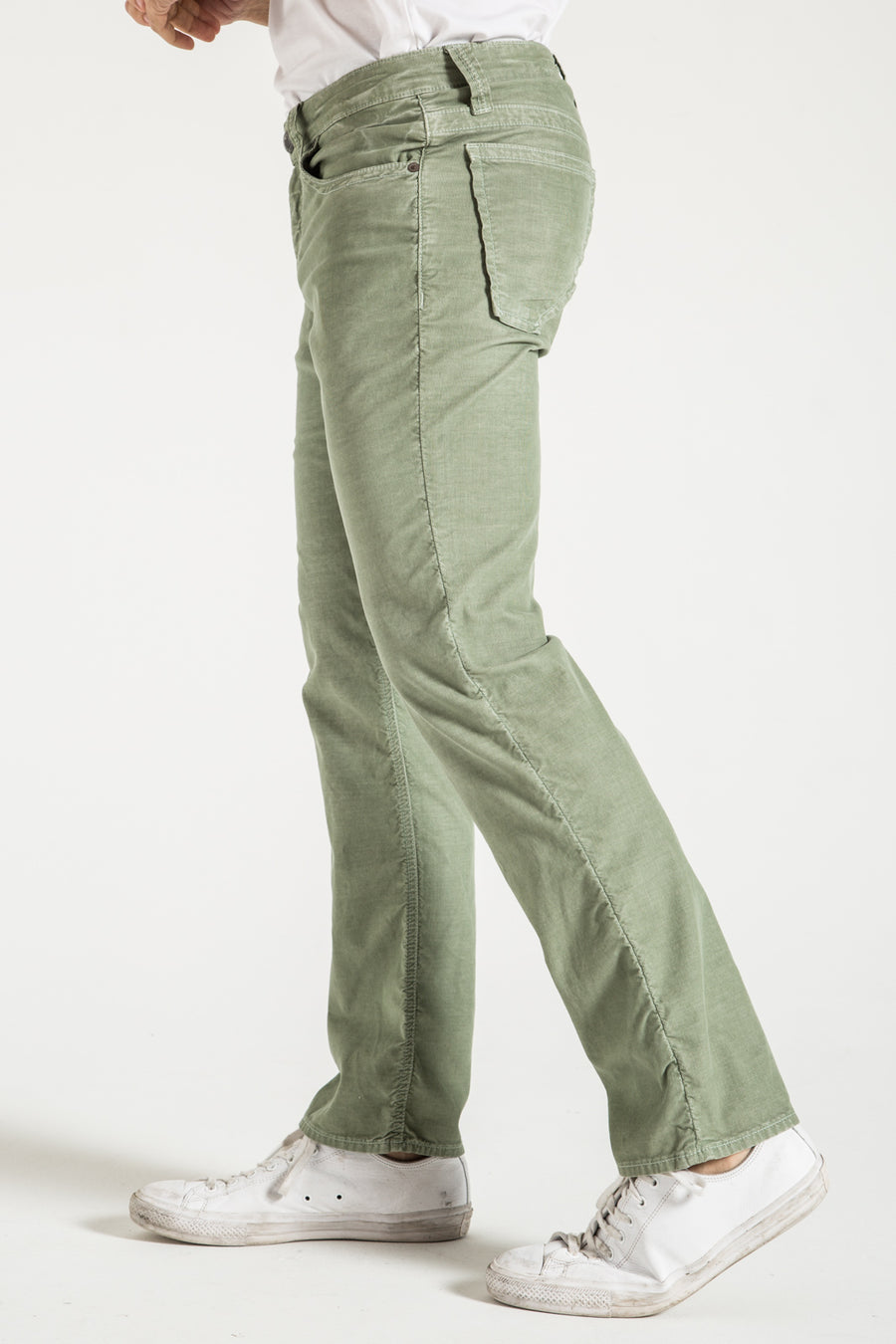 TEXAS STRAIGHT IN SAGE CORDUROY