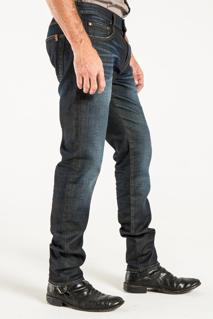 RIGGINS TAPER IN TIMBER DENIM
