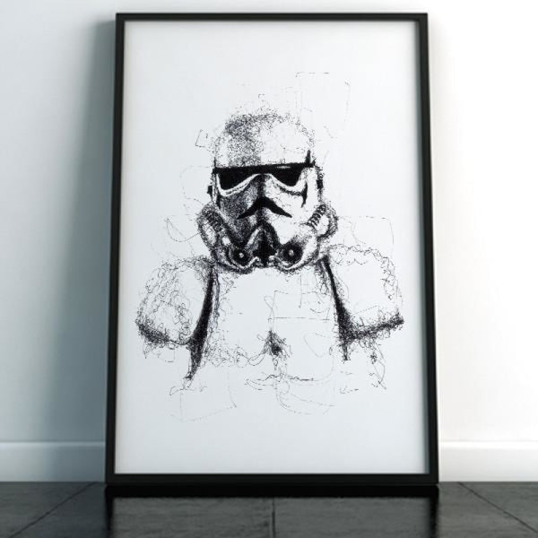 Storm Trooper Plakat