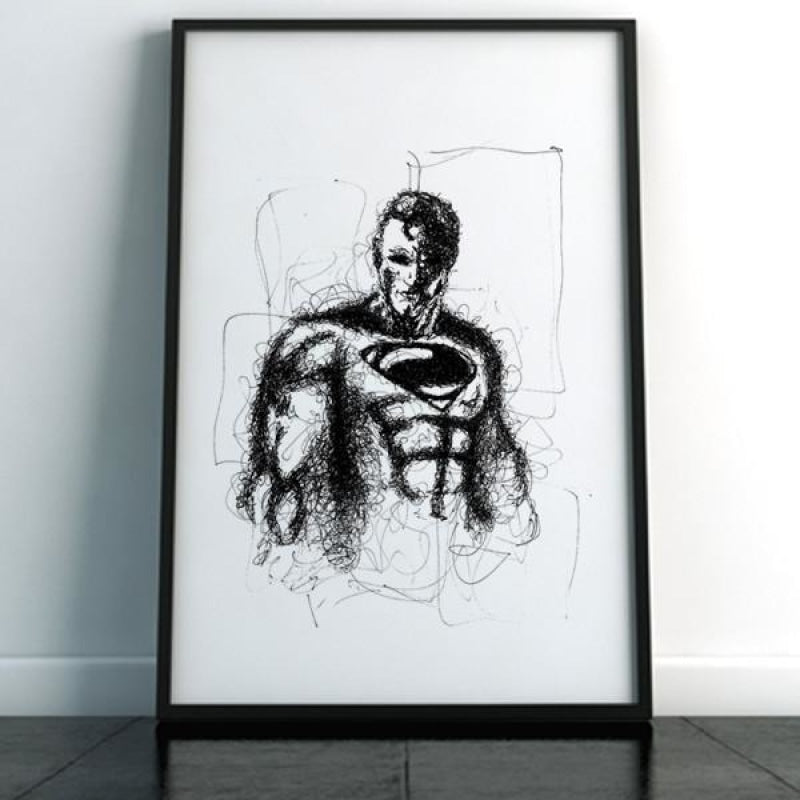 Superman Plakat