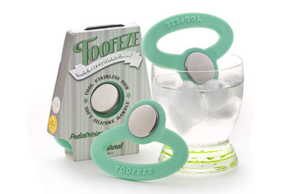 Toofeeze cools quickly in cold water