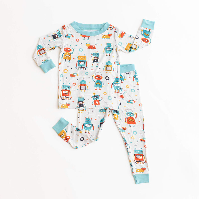 Little Sleepies Bamboo two-piece pajama set