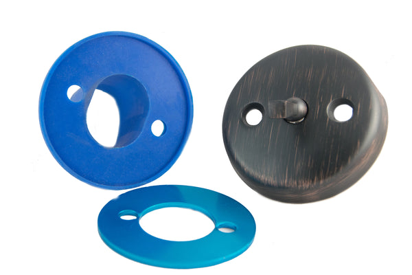 BIG Overflow Gasket Kit with Trip Lever Overflow Cover