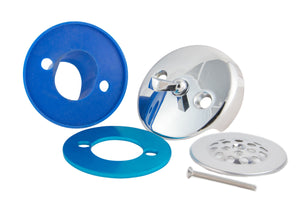 BIG Overflow Gasket, Trip Lever Cover, and Strainer Dome Cover Kit