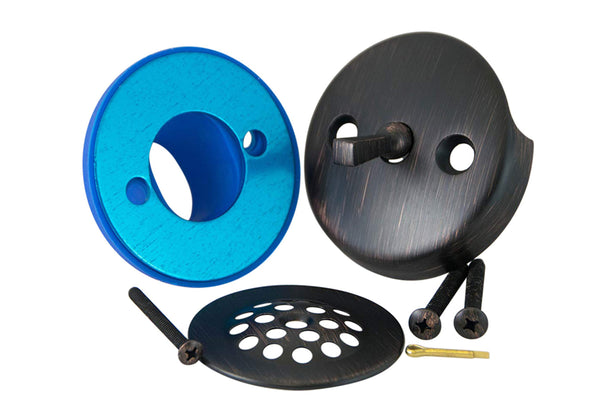 BIG Leak-Proof Overflow Gasket, Trip Lever Cover, and Strainer Kit