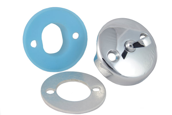 Overflow Gasket Kit with Trip Lever Cover