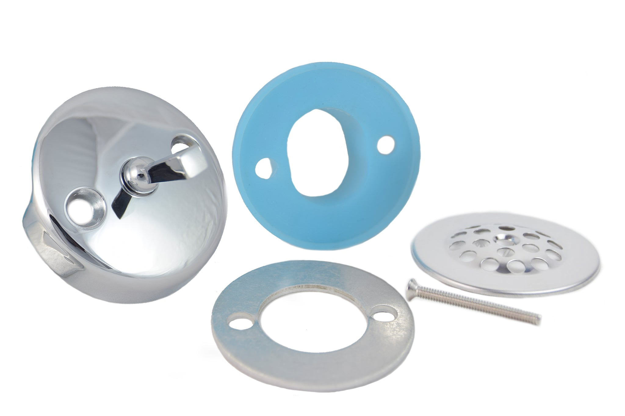 Overflow Gasket, Trip Lever Cover, and Strainer Dome Cover Kit