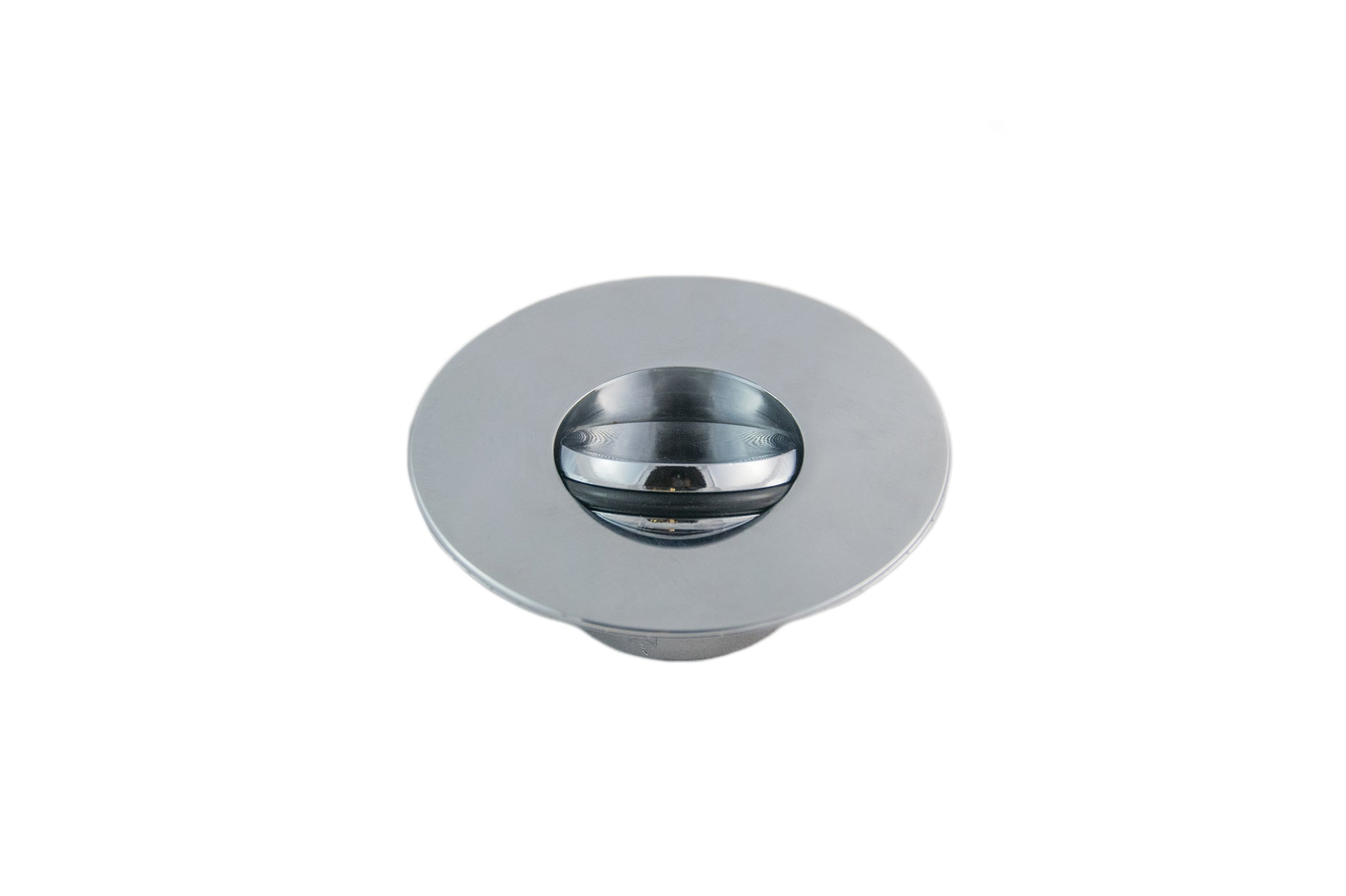 Non-Threaded Bathtub Flip-Top Drain Stopper with Snap-In Flange