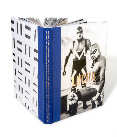 "Hand-bound Hardcover Book ""LUCHA: A TRIBUTE"""
