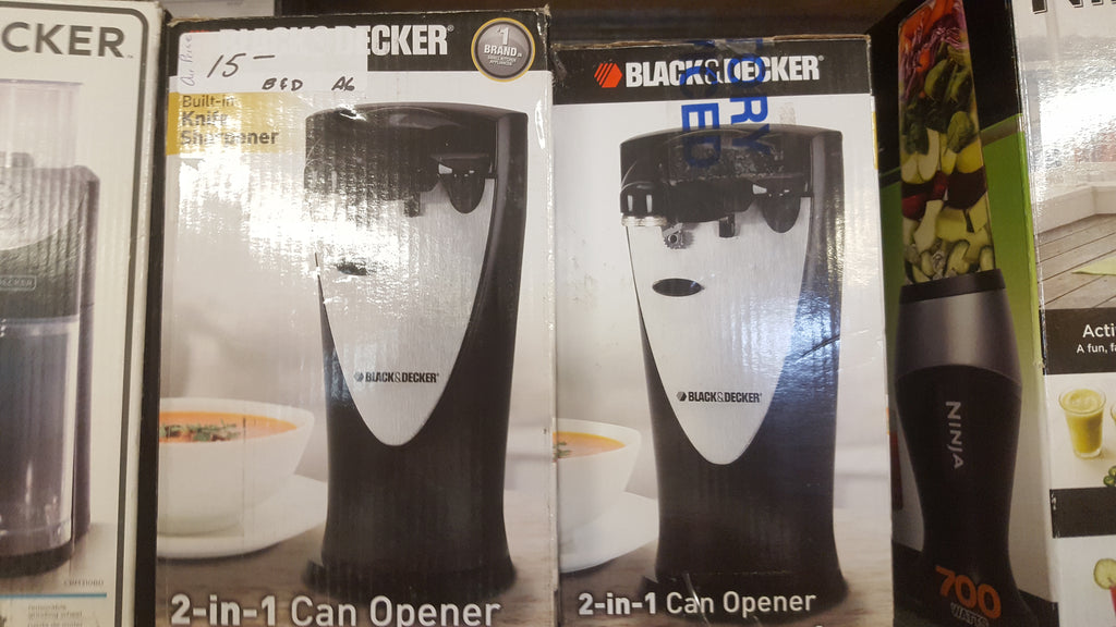 Black & Decker 2-1 Can Opener!