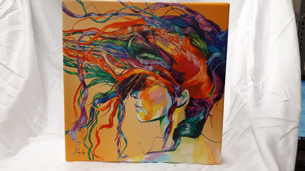 Beautiful Wrapped Canvas Print