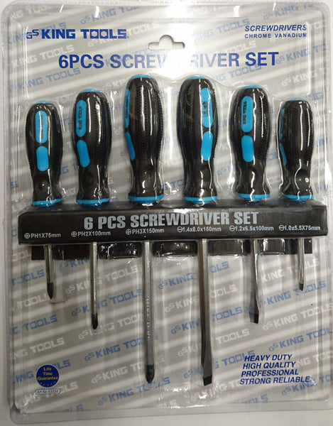 6pcs Screwdriver Set -- Compare at $30.00