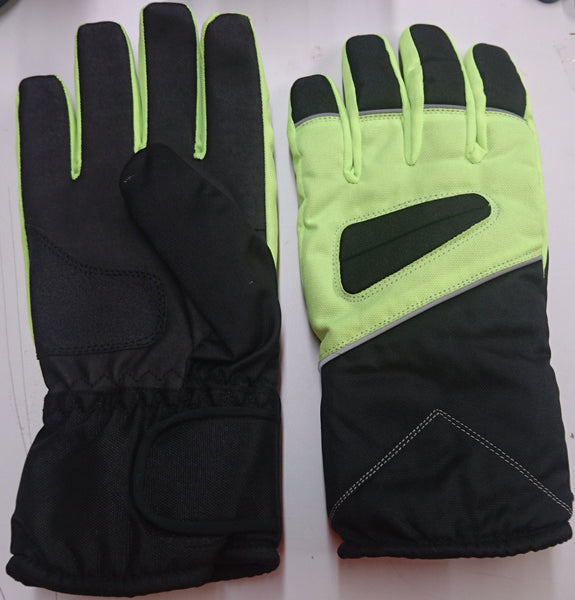 Winter Gloves / Green/Black  Size Large -- Compare at $70.00 --