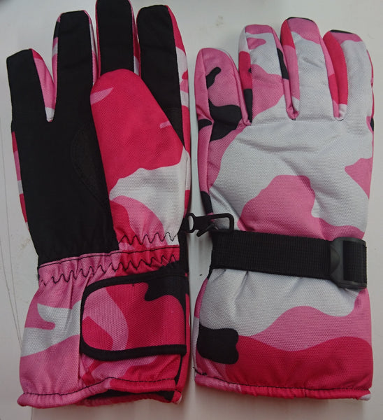 Winter Gloves / Pink Camo  Size Large -- Compare at $70.00