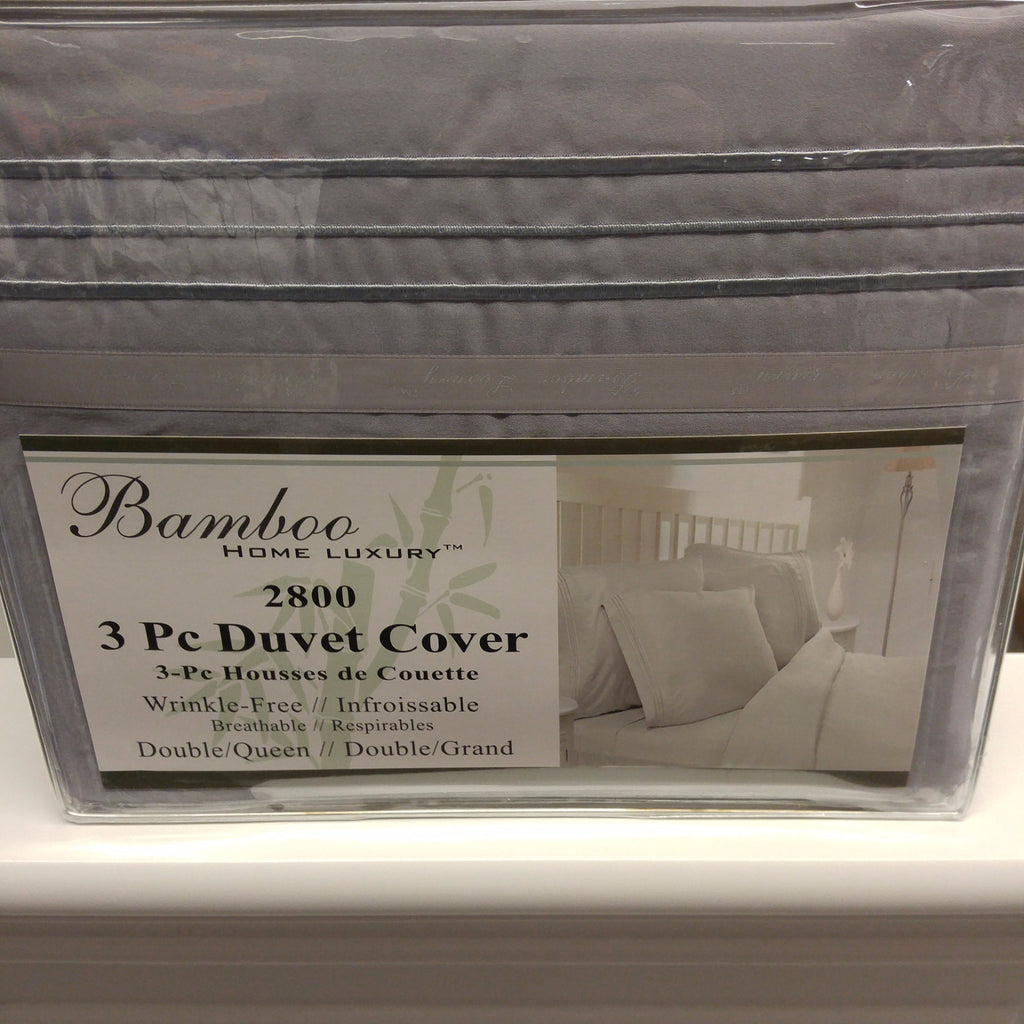 Bamboo 3pc Duvet Cover Set -- Compare from $35.00