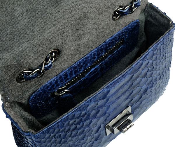 Ceylon Midnight Blue 2-Way Sling Bag