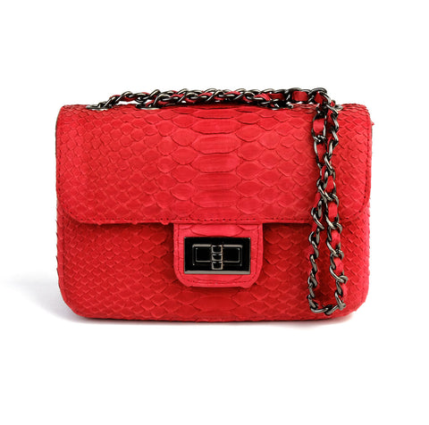 Ceylon Scarlet 2-Way Sling Bag