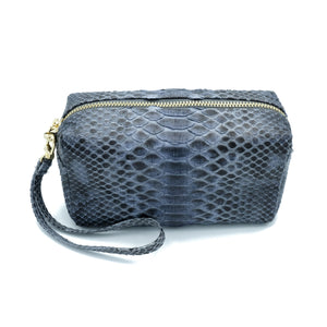 Samui Grey Motif Makeup and Toiletries Bag