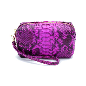 Samui Pink Motif Makeup and Toiletries Bag
