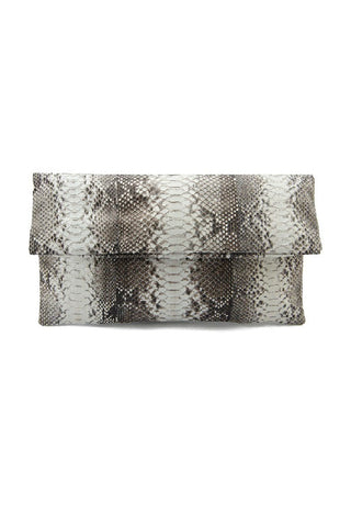 Mandalay Natural Foldover Clutch