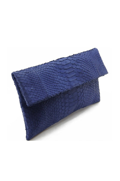 Mandalay Denim Foldover Clutch