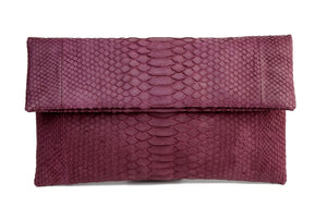 Mandalay Cherry Foldover Clutch