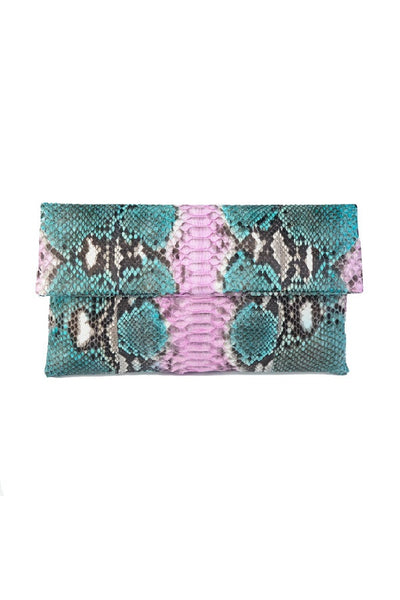 Mandalay Tropic Foldover Clutch