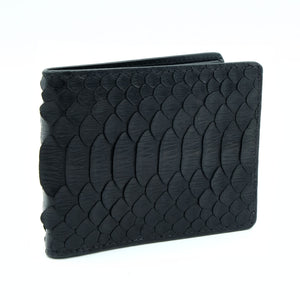 Dusit Men's Black Bi Fold Wallet