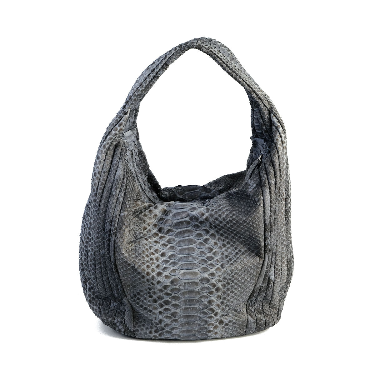 Paro Grey Motif Hobo bag