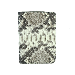 Natural Python Passport Cover