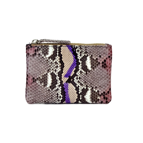 Saigon Lilac Brown Coin Purse