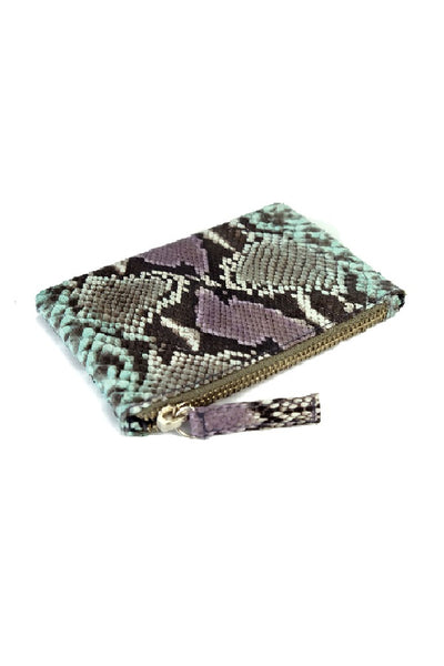 Saigon Lilac Aqua Coin Purse