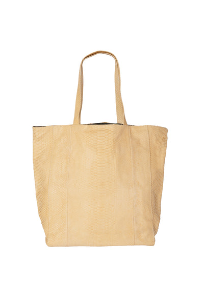 Goa Beige Shopper Tote Bag