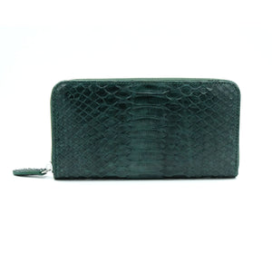 Silom Green Motif Women's Long Wallet