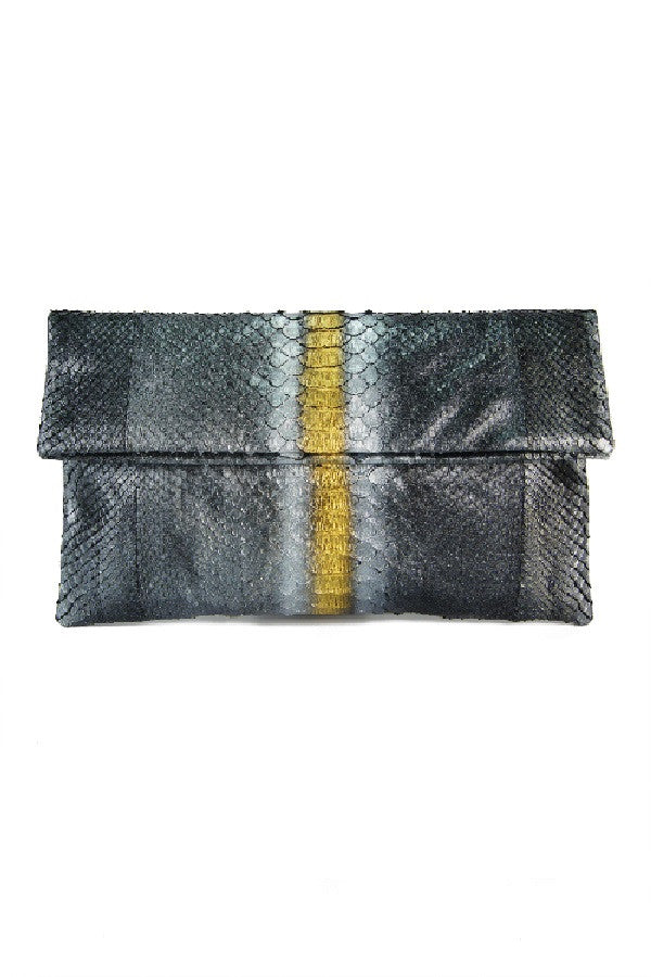 Mandalay Metallica Foldover Clutch