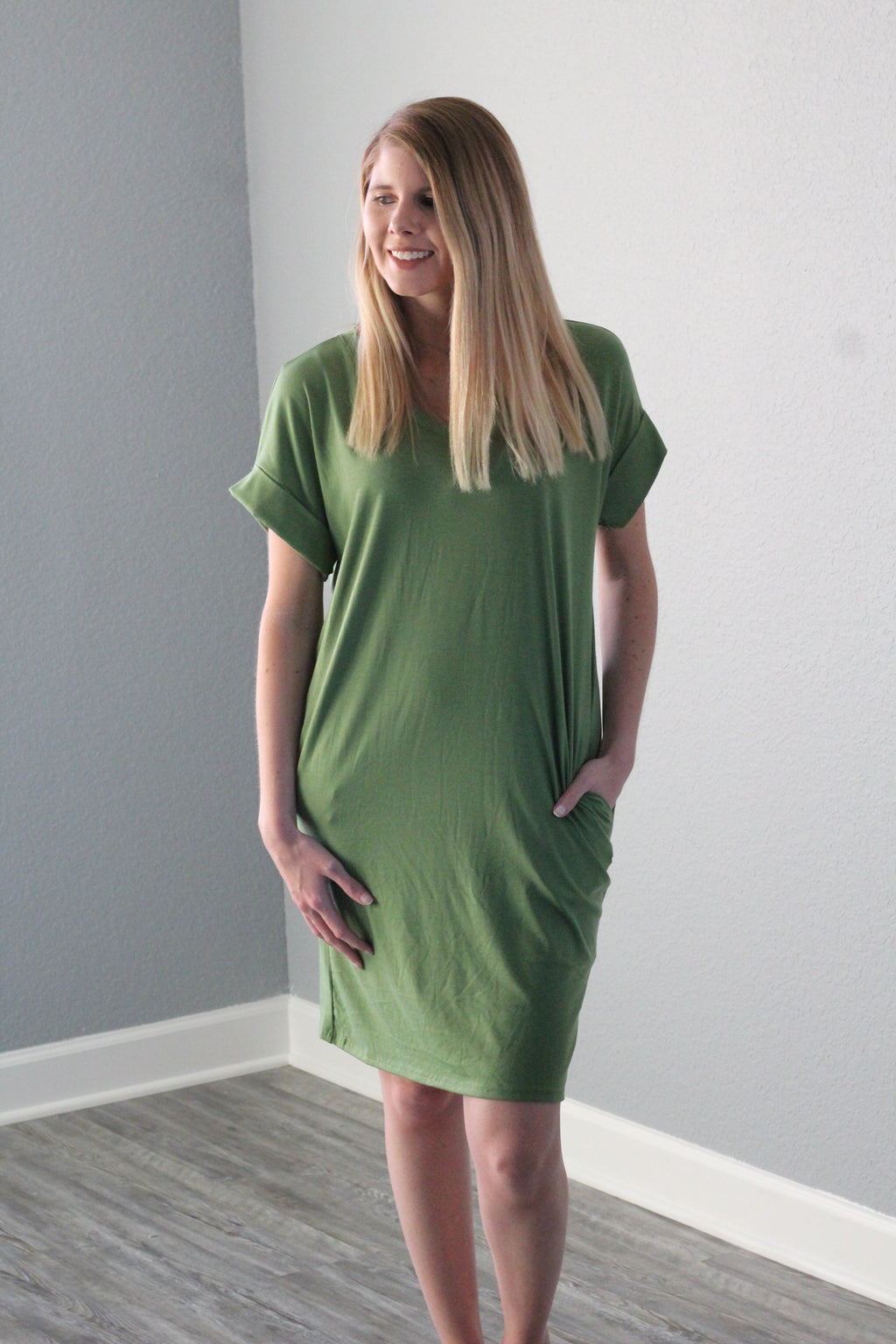 Sweetheart Dress (Kiwi)