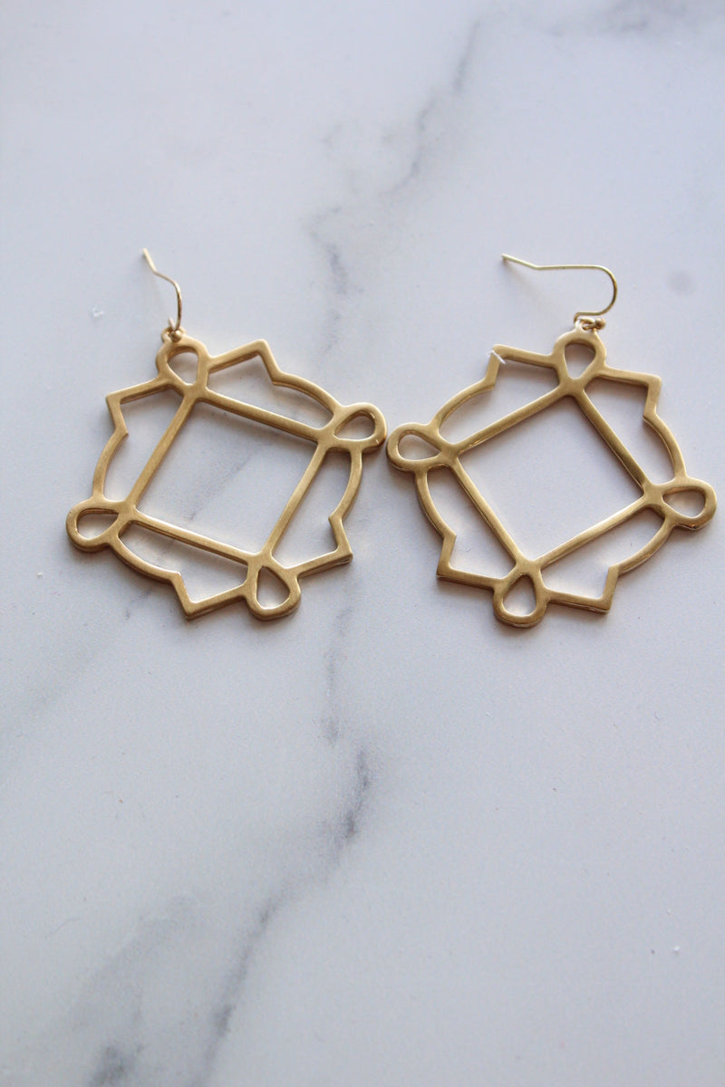 Solaz Gold Earrings